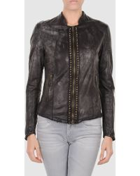 DROMe Leather Outerwear - Lyst