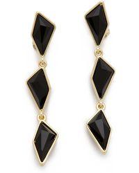 Belle Noel Glamrock Drop Earrings - Lyst