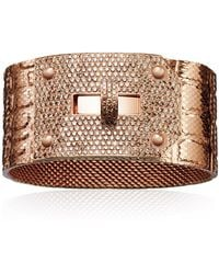 Hermès Kelly Bracelet gold - Lyst