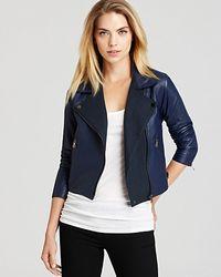 Sachin & Babi Leather Jacket Delmar - Lyst