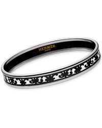 Hermès Balcons Du Guadalquivir Bracelet  silver - Lyst
