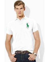 Polo Ralph Lauren Tall Custom Fit Big Pony Polo - Lyst