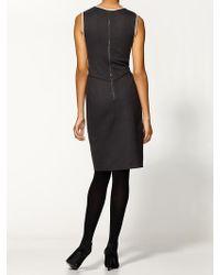 Theory Nyasha Elite Colorblock Dress - Lyst