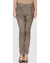 830 Sign Casual Trousers - Lyst