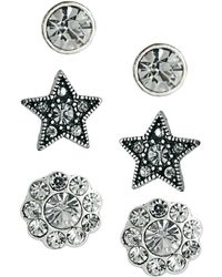 Cath Kidston - Exclusive To Asos Three Pack Earring Set - Lyst