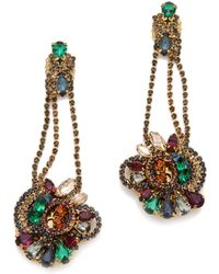 Club Monaco Cluster Earrings  - Multicolor