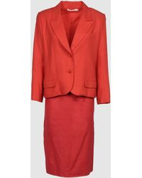 Givenchy Women's Suit - Red