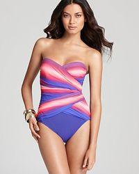 Gottex One Piece Swimsuit - Lyst