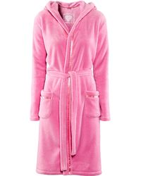 H&M Dressing Gown pink - Lyst