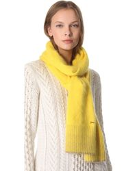 Juicy Couture - Angora Scarf - Lyst