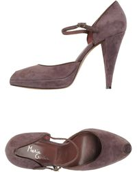 Maria Cristina Courts With Open Toe - Lyst
