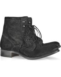 NDC - Sunday Metallic-finish Leather Ankle Boots - Lyst