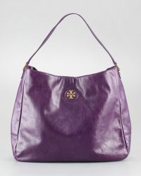 Tory Burch City Leather Hobo Bag - Lyst