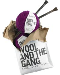 Wool And The Gang - Jolly Pocket Diy Wool Scarf Kit - Lyst