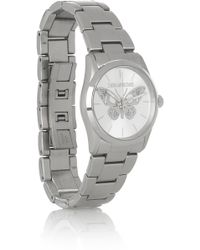 Zadig & Voltaire | Stainless Steel Butterfly Motif Watch | Lyst