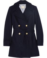 Boy by Band of Outsiders - Doublebreasted Woolblend Peacoat - Lyst