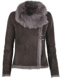 AllSaints Pelt Jacket - Grey