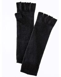 Ann Taylor Fingerless Gloves - Black
