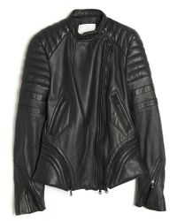 3.1 Phillip Lim Leather Moto Jacket - Lyst