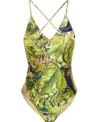 We Are Handsome The Messengers Printed Swimsuit multicolor - Lyst