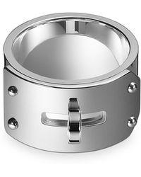 Hermès Kelly Silver Ring Gm - Lyst