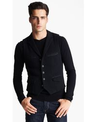 Rag & Bone Merino Wool Vest - Lyst