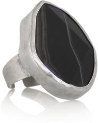 Chan Luu Silver Agate Ring - Lyst