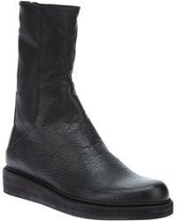 LD Tuttle The Bone Demiwedge Boot - Black