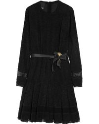Meadham Kirchhoff - Loelia Stretch-bouclé Dress - Lyst