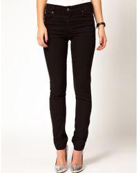 Cheap Monday Black Tight Skinny Jeans - Lyst