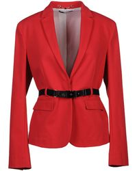 Gucci Blazer red - Lyst