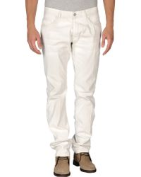 M. Grifoni Denim Denim Trousers - Lyst