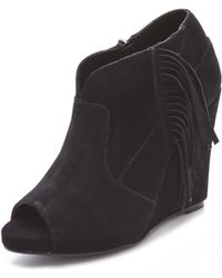 13aa057b311 Samara Ankle Booties - Black