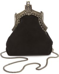 House of Harlow 1960 - Rey Suede Bag - Lyst