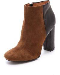 Joie Bright Fire Booties - Lyst