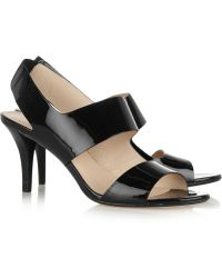 Kors by Michael Kors - Princeton Patentleather Sandals - Lyst