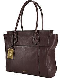 Lauren by Ralph Lauren Lauren By Ralph Lauren North South Tote Handbag Peppercorn - Brown