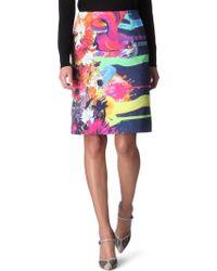 Preen By Thornton Bregazzi Lee Printed Skirt - Lyst