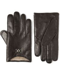Vivienne Westwood | Skull Leather Gloves | Lyst
