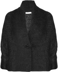 Nicole Farhi - Mohair and Silk Blend Cardigan - Lyst