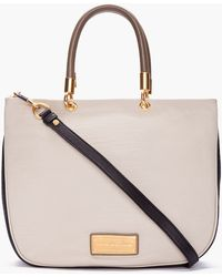Marc By Marc Jacobs Grey Combo Too Hot To Handle Mini Shopper - Lyst