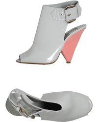 Chloé Highheeled Sandals - Gray