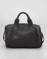 Alexander Wang Rocco Stud-Bottom Satchel Bag - Lyst