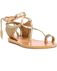 Ancient Greek Sandals Leather Sandals - Lyst