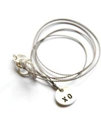 Vivien Frank Designs XO Hugs and Kiss Necklace - Lyst
