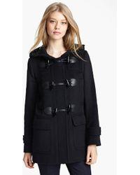 Burberry Brit Mawdsley Toggle Front Wool Coat - Lyst