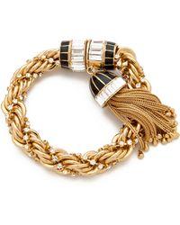 Rachel Zoe - Tassel Bracelet - Lyst