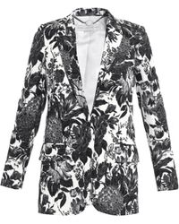 Stella McCartney Frazier Flower Print Blazer floral - Lyst