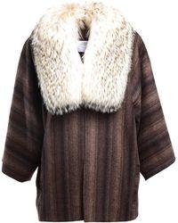 Liska By Thomas Kirchgrabner Fur Coat - Lyst