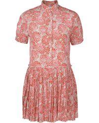 Paul & Joe Lionne Floral Print Dress - Lyst